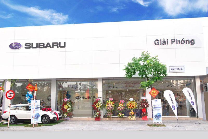 Subaru Giải Phóng: Giá xe, khuyến mãi tốt nhất 2021 tại Hà Nội