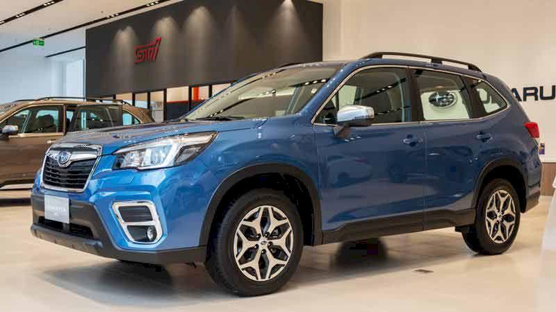 Subaru Forester 2020 gặp khó khăn khi bứt phá trong phân khúc ?