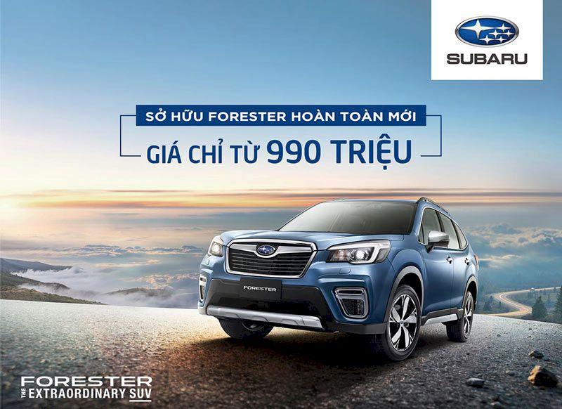 Giá xe Subaru ở đâu tốt nhất để mua ?