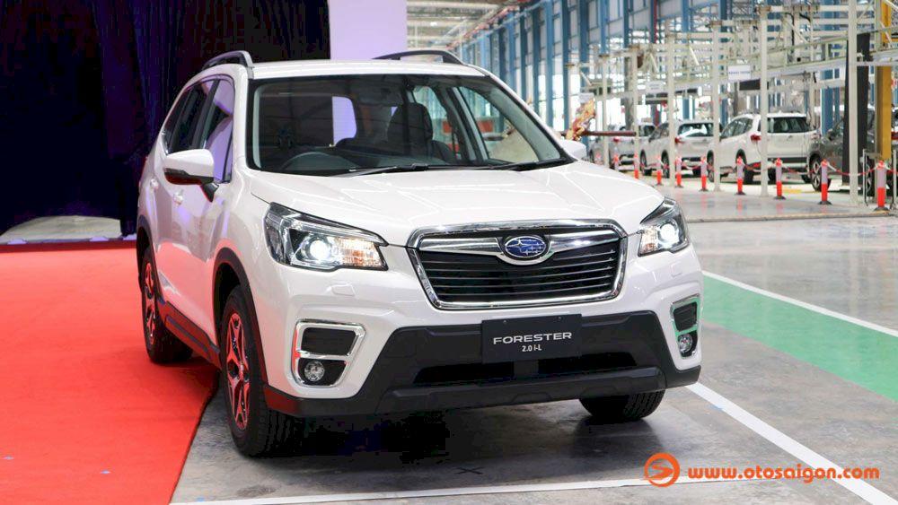 SUV 07 chỗ Subaru Ascent 2021 nhập Mỹ cạnh tranh Ford Explorer