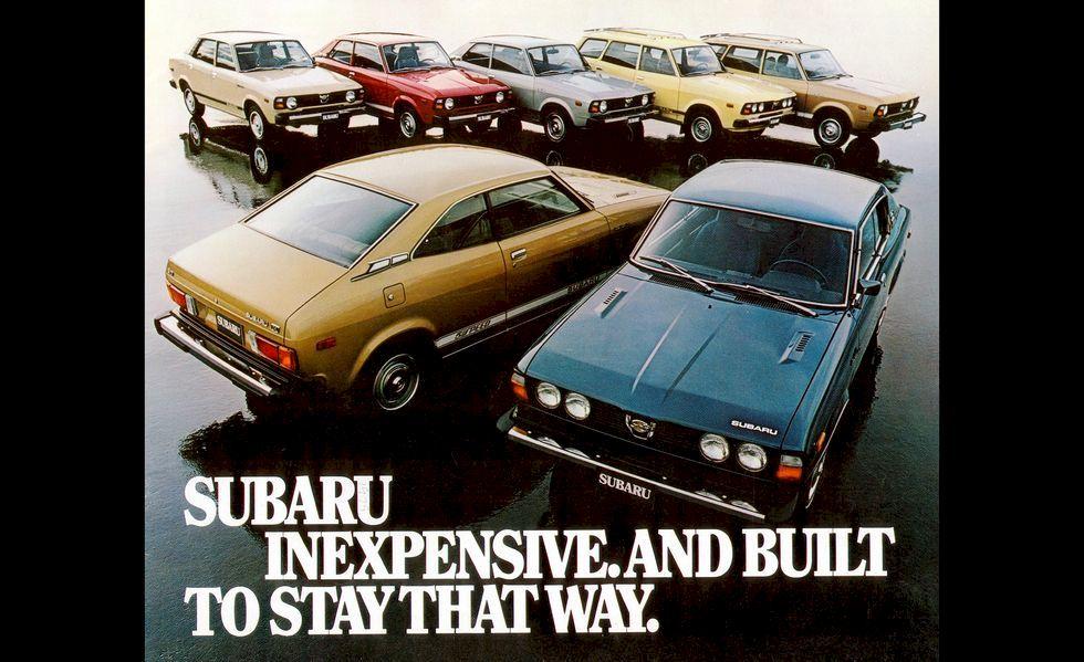 Lịch sử 50 năm thương hiệu Subaru trên đất Mỹ ( Phần II )