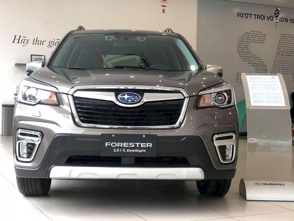 Subaru Foreseter 2.0i-S EyeSight 2021: Đánh giá, so sánh, giá bán CUV Subaru