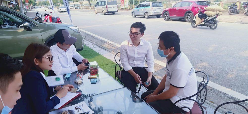 Subaru Hà Nội: Trưng bày và lái thử xe Subaru tại TP Lào Cai