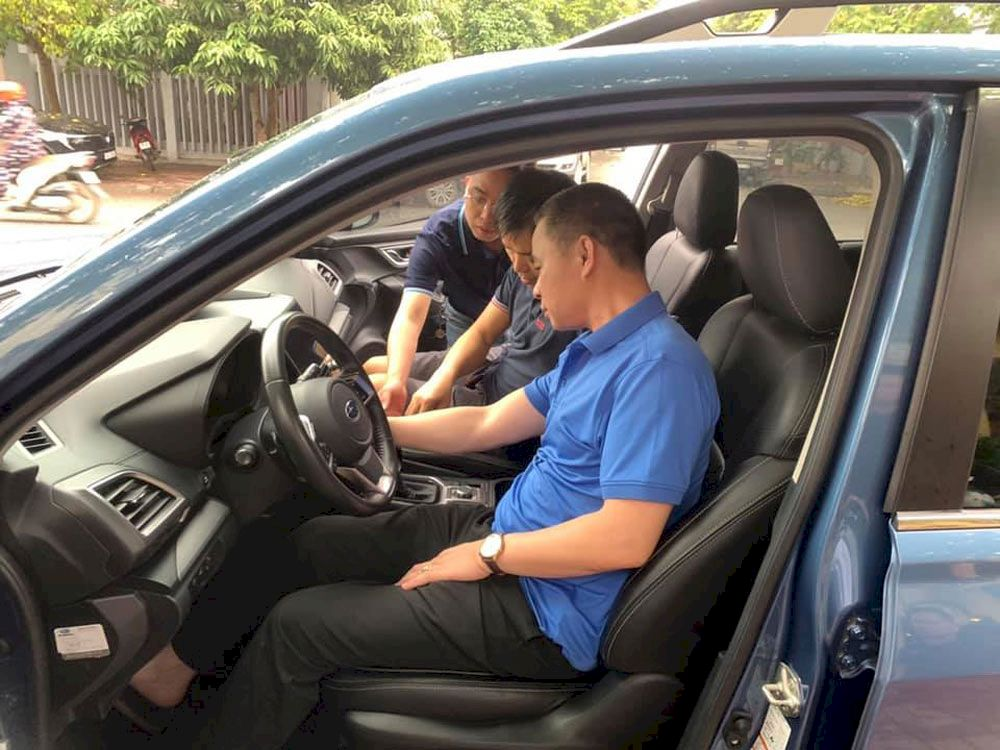 Subaru Long Biên: Sự kiện trưng bày và lái thử xe tại TP Hưng Yên