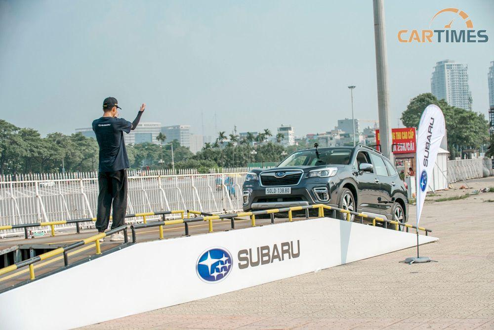 Subaru Long Biên: Sự kiện lái thử xe Subaru tại TP Bắc Ninh ngày 17/04