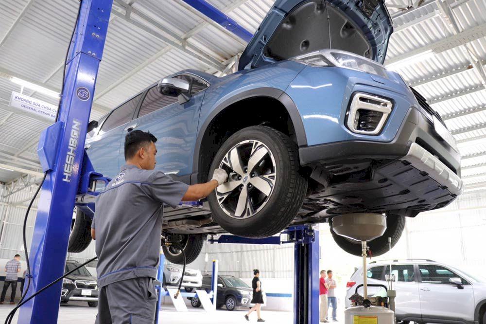 Chi phí bảo dưỡng xe Subaru Forester 2021 có đắt không ?