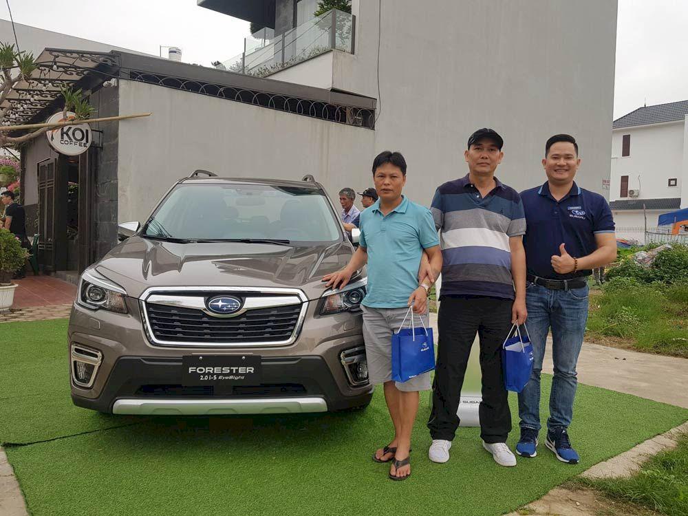 Subaru Long Biên : Chuỗi sự kiện trưng bày và lái thử xe Subaru tại Miền Bắc