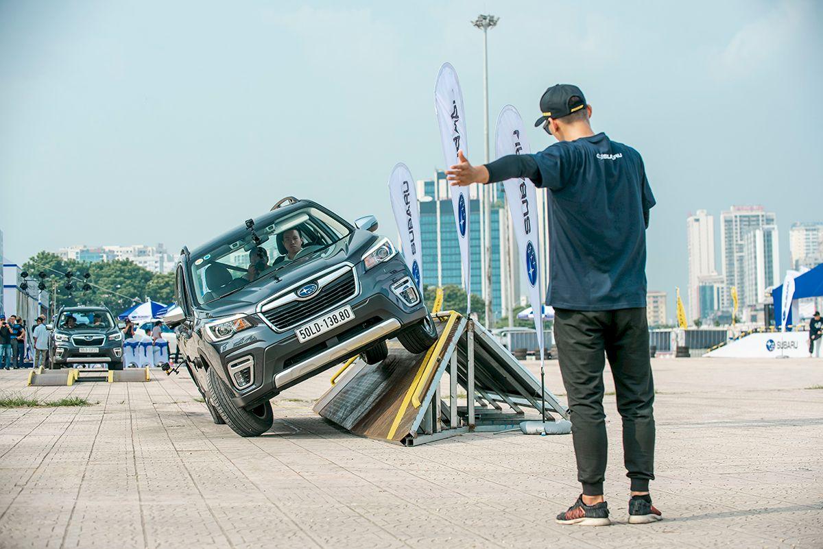 Đăng ký lái thử xe Subaru và chi phí đăng ký lăn bánh tại Hà Nội