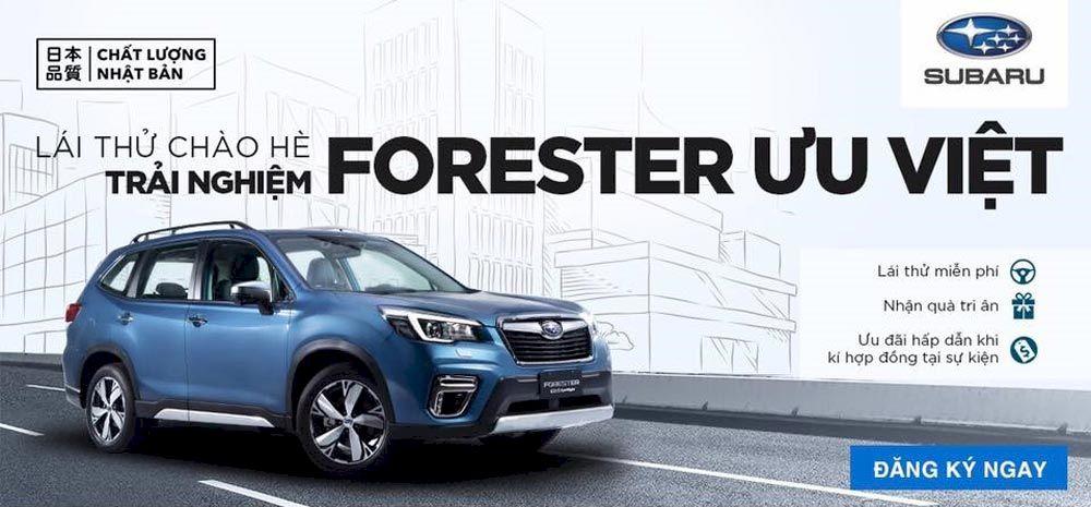 Bảng giá xe Subaru mới nhất và chi phí lăn bánh khi mua xe tháng 05/2021