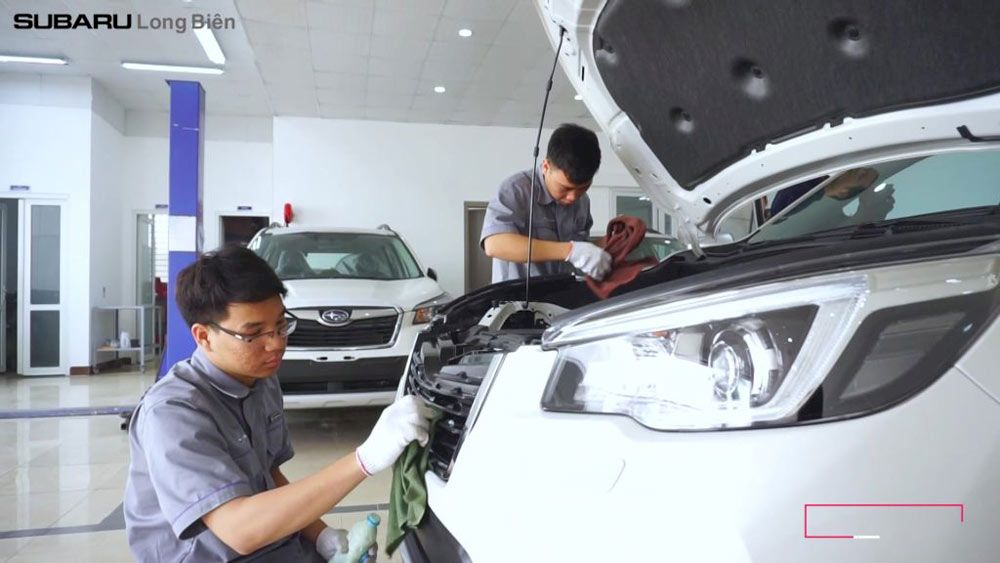 Subaru Long Biên: Giá xe và chi phí đăng ký lăn bánh Forester 2021