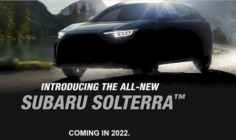 Subaru Solterra 2022:  SUV hoàn toàn mới động cơ điện của Subaru lộ diện