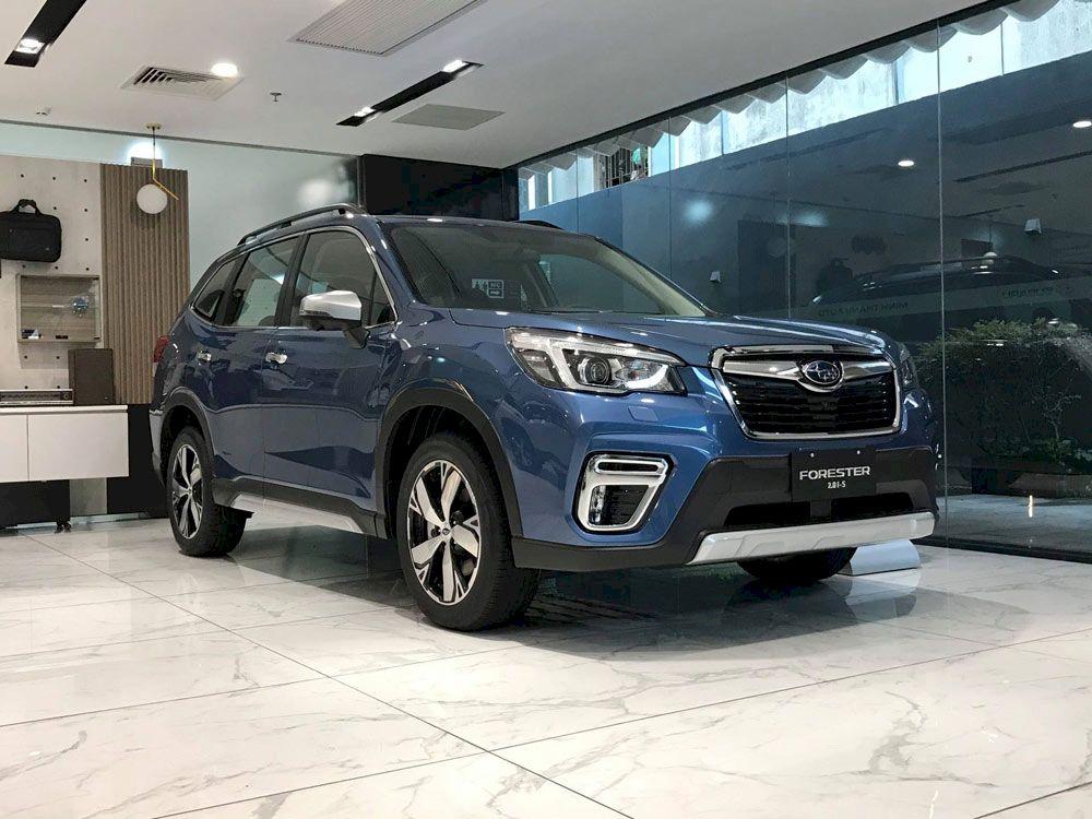 Subaru Forester 2021: Tăng trang bị, giảm giá bán quyết đấu CRV