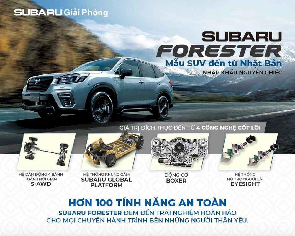 Bảng giá xe Subaru tháng 07/2021: Mua xe gì khi mùa du lịch đang đến gần ?