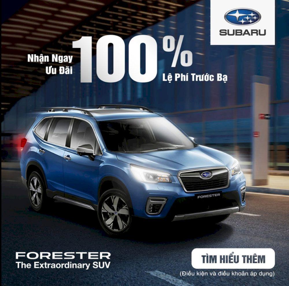 Bảng giá xe subaru mới nhất : Hỗ trợ 100% phí trước bạ khi mua xe Subaru trong tháng 09.2021