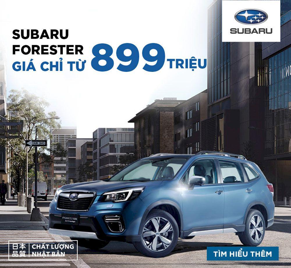 Bảng giá xe Subaru: Cập nhập khuyến mãi, giá lăn bánh mới nhất 2021