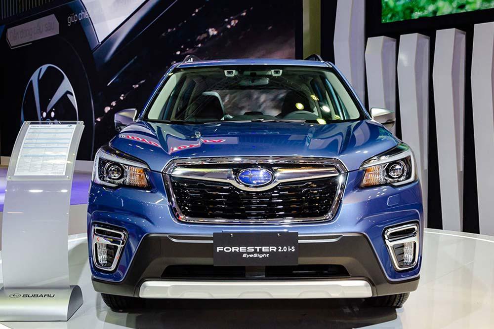 Giá xe Subaru tháng 12/2020: Cơ hội sở hữu Forester giá tốt