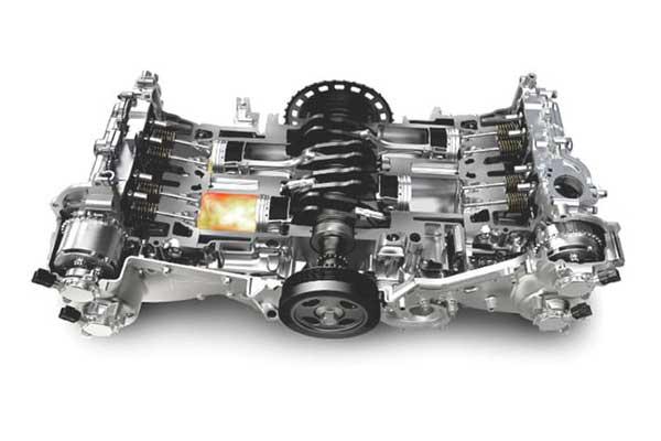 Máy boxer của xe ô tô Subaru