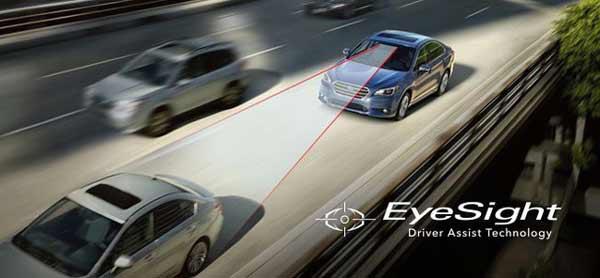 Tính năng an toàn mắt thần EyeSight của xe Subaru