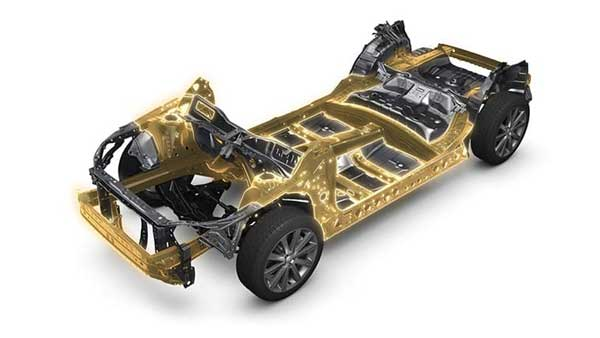Hệ thống khung gầm toàn cầu của xe ô tô Subaru