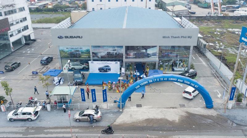Đại lý ô tô Subaru ủy quyền thứ 6 đi vào hoạt động trong năm 2020