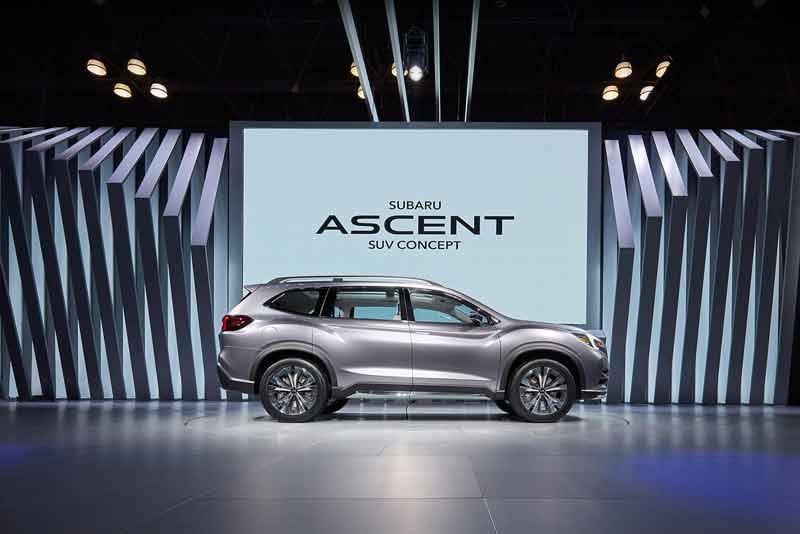 Subaru Ascent 2020 : Cập nhập thông tin, giá xe SUV 7 chỗ