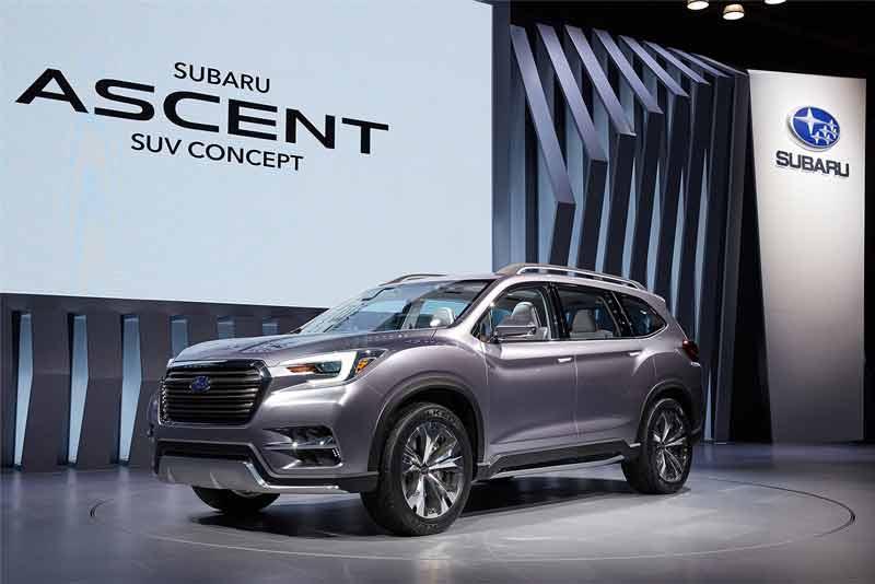 Subaru Ascent 2021 : Cập nhập thông tin, giá xe SUV 7 chỗ