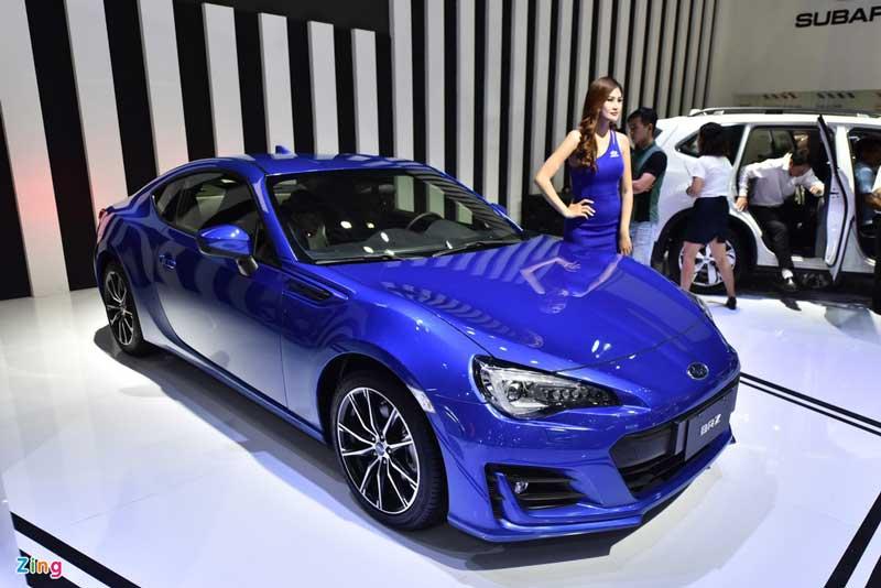 Subaru BRZ 2021: Cập nhập tính năng, giá xe mới nhất