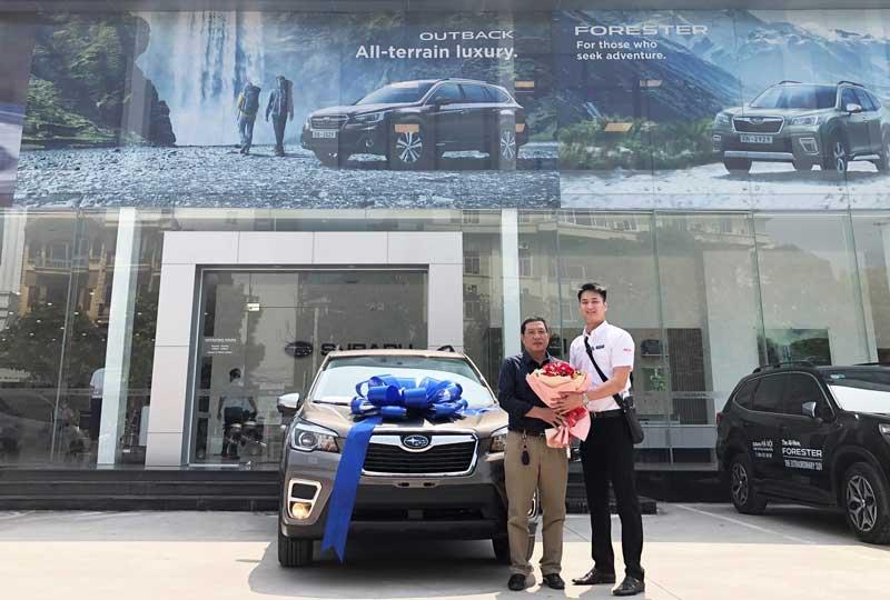 Subaru Forester 2.0i-S EyeSight 2020: Mầu vàng cho khách mệnh kim