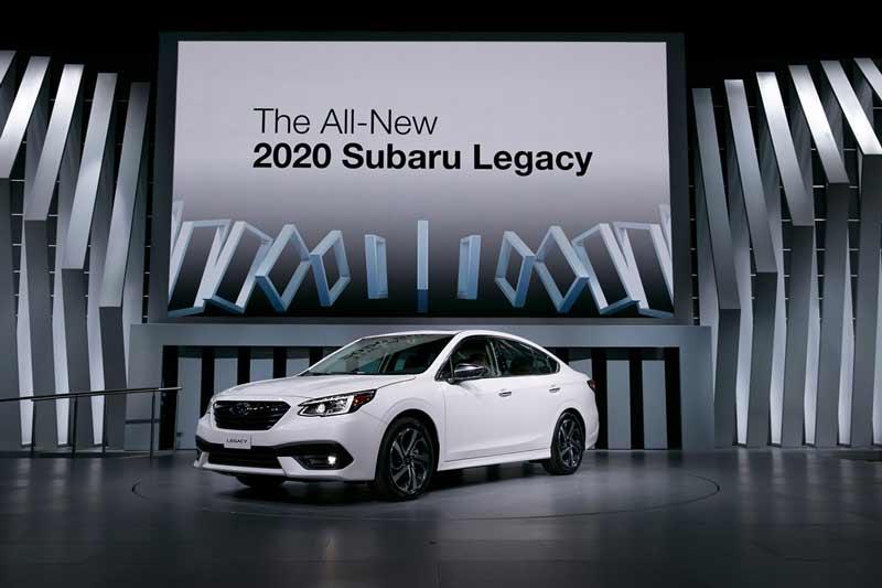 Subaru Legacy 2021 EyeSight : Cập nhập thông số, giá xe mới nhất