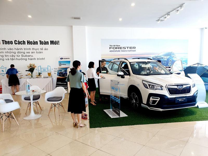 Bảng giá xe Subaru Forester 2020 và chi phí lăn bánh tại TP Thanh Hóa