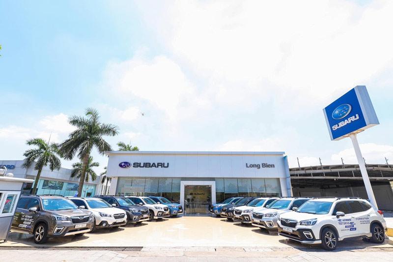Các đại lý ô tô Subaru tại Hà Nội