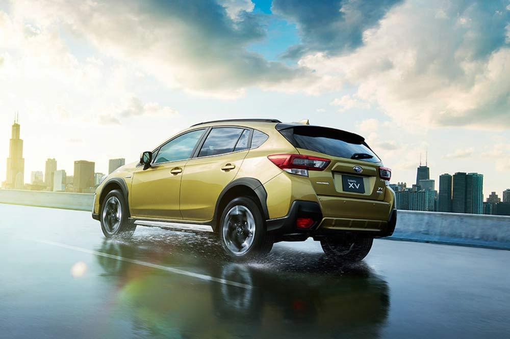 Subaru XV 2021 bản nâng cấp chính thức ra mắt tại Nhật Bản